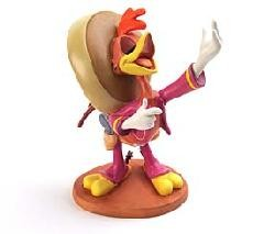 WDCC Disney Classics Three Caballeros Panchito Amigo Panchito