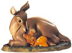 WDCC Disney Classics Bambi And Mother My Little Bambi