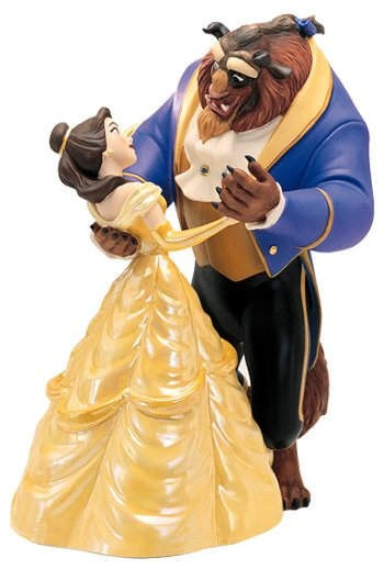 WDCC Disney Classics Beauty And The Beast Belle And Beast Tale As Old As Time