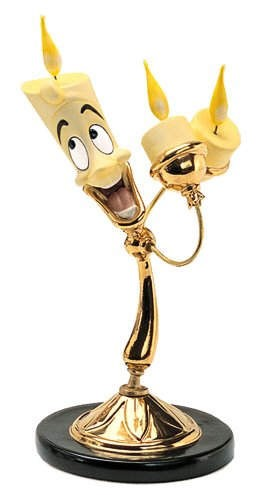 WDCC Disney Classics Beauty And The Beast Lumiere