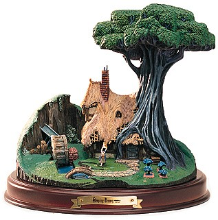 WDCC Disney Classics Sleeping Beauty The Woodcutter's Cottage