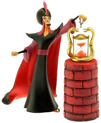 WDCC Disney Classics Aladdin Jafar Oh Mighty Evil One