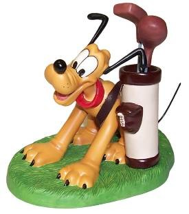 WDCC Disney Classics Canine Caddy Pluto A Golfer's Best Friend