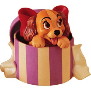 WDCC Disney Classics Lady And The Tramp Lady A Perfectly Beautiful Little Lady