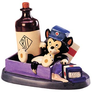WDCC Disney ClassicsFirst Aiders Figaro First Aid Fiasco
