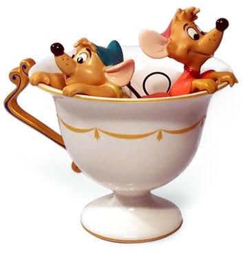 WDCC Disney ClassicsCinderella Gus And Jaq Tea For Two