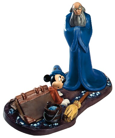 WDCC Disney Classics Fantasia 2000 Yensid And Mickey Oops