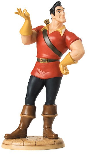 WDCC Disney Classics Beauty And The Beast Gaston Village Heartthrob