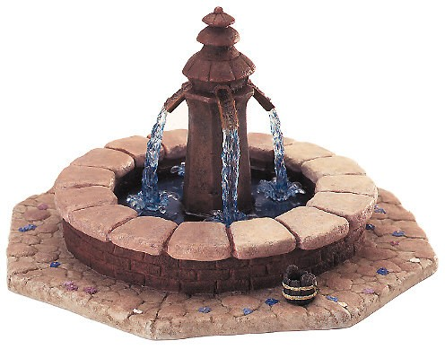 WDCC Disney Classics Beauty And The Beast Fountain