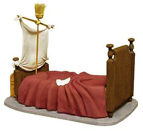 WDCC Disney Classics Peter Pan Darling Nursery Bed Base