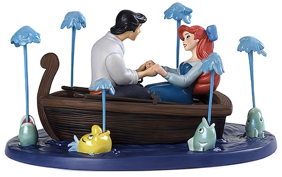 WDCC Disney ClassicsThe Little Mermaid Eric And Ariel Kiss The Girl