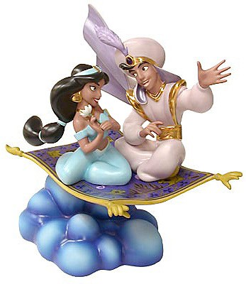 WDCC Disney Classics Aladdin Aladin And Jasmine A Whole New World