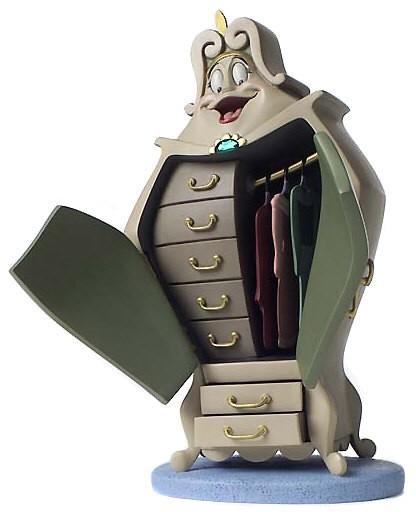 WDCC Disney ClassicsBeauty And The Beast Wardrobe