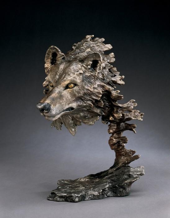 Mark HopkinsWild WindBronze Sculpture