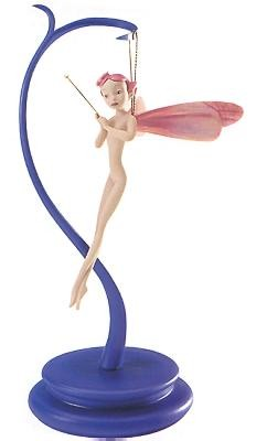 WDCC Disney Classics Fantasia Dew Drop Fairy Pretty In Pink (includes Stand)