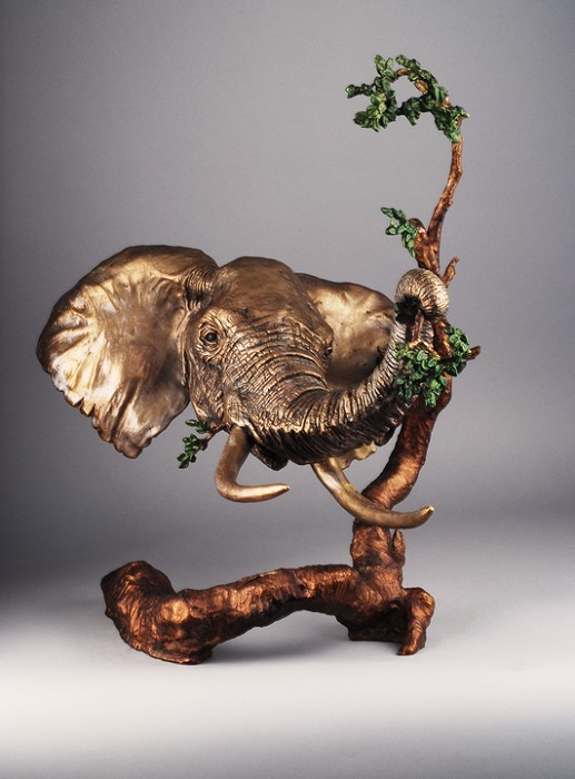 Mark HopkinsAncient of DaysBronze Sculpture
