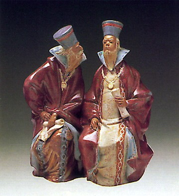 Lladro Magistrates 1974-81 Porcelain Figurine