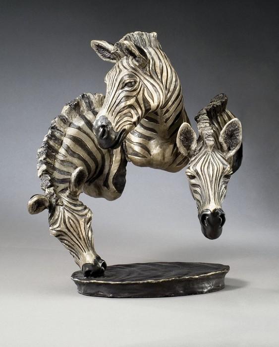Mark HopkinsWatering HoleBronze Sculpture