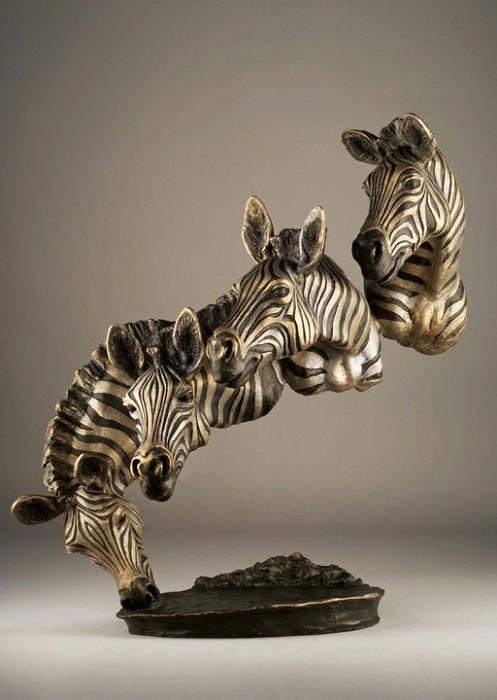 Mark HopkinsBank of the MaraBronze Sculpture