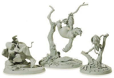 WDCC Disney ClassicsTarzan Tantor and, Terk Maquettes (matched numbered Set)