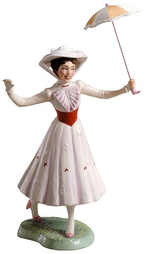 WDCC Disney Classics Mary Poppins Its A Jolly Holiday With Mary (With Special Backstamp)