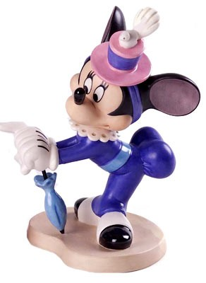 WDCC Disney ClassicsThe Nifty Nineties Minnie Mouse A Lovely Lady