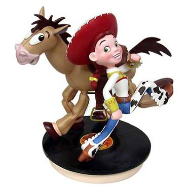 WDCC Disney Classics Toy Story 2 Jessie And Bullseye Yeee-Ha And Ride Like The Wind