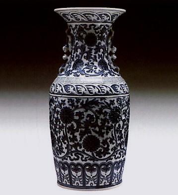 LladroPekinese Vase 1972-81