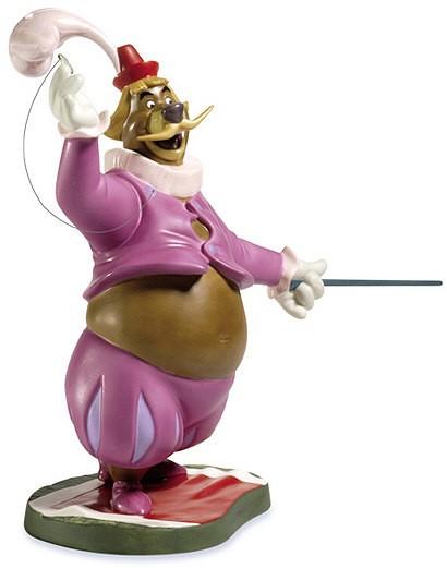 WDCC Disney ClassicsRobin Hood Little John Flamboyant Fop