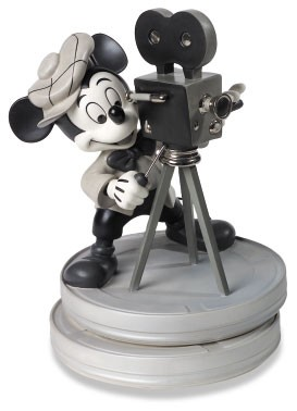 WDCC Disney Classics Mickey Mouse Club Mickey Mouse Behind The Camera