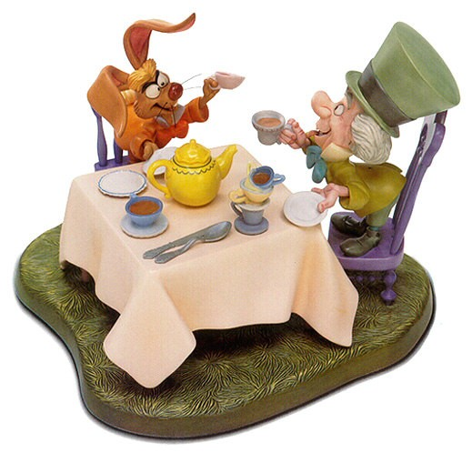 WDCC Disney ClassicsAlice In Wonderland Mad Hatter And March Hare A Very Merry Unbirthday