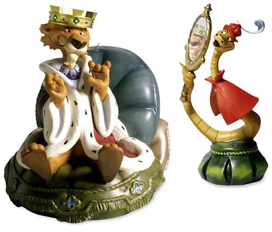 WDCC Disney ClassicsRobin Hood Prince John & Sir Hiss