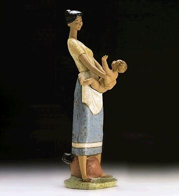 Lladro Mother and Child 1994-97