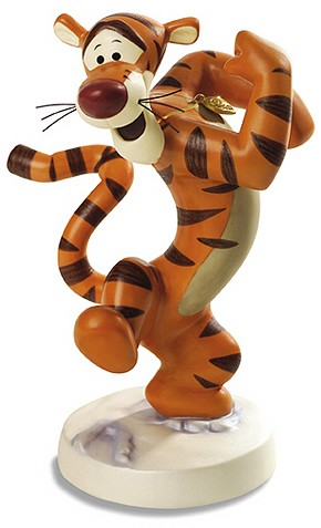 WDCC Disney Classics Winnie The Pooh Tigger Bounciful Buddy