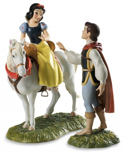 WDCC Disney Classics Snow White And Prince And Away To His Castle We Go