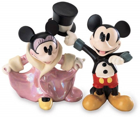 WDCC Disney Classics Mickeys Gala Premier Mickey And Minnie Mouse