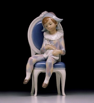 Lladro Young Harlequin 1972-99