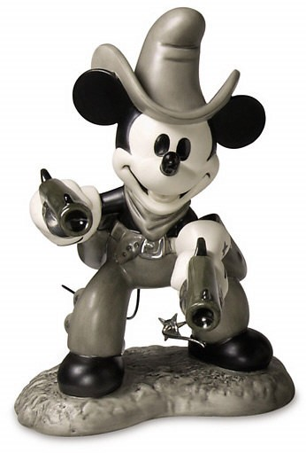 WDCC Disney Classics Two Gun Mickey Mouse Quick Draw Cowboy