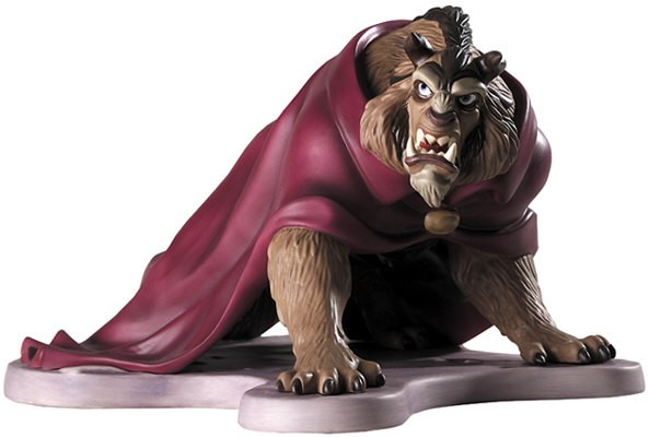 WDCC Disney Classics Beauty And The Beast Fury Unleashed