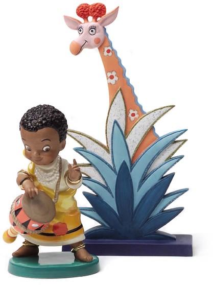 WDCC Disney ClassicsIt's A Small World Africa Mahadhi Ya Afrika Rhythm Of Africa