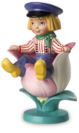 WDCC Disney Classics It's A Small World Holland Tulpenjongen Boy With Tulip