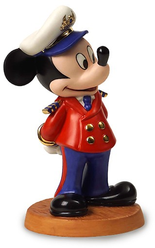 WDCC Disney Classics Disney Cruise Lines Mickey Mouse Welcome Aboard