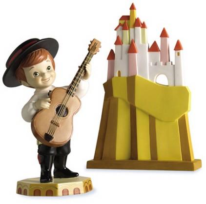 WDCC Disney ClassicsIts A Small World Spain Hola Amigos Boy and Aldea Village