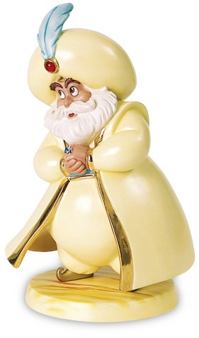 WDCC Disney ClassicsAladdin Sultan Fawning Father