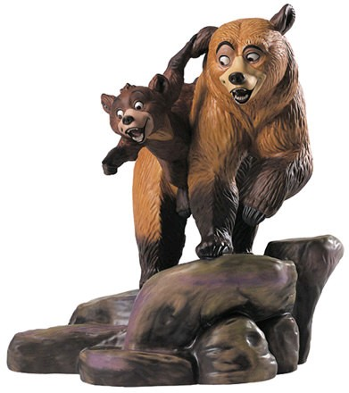 WDCC Disney Classics Brother Bear Kenai And Koda Brotherly Time