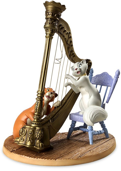 WDCC Disney ClassicsThe Aristocats Duchess And Omalley Plucking The Heart Strings