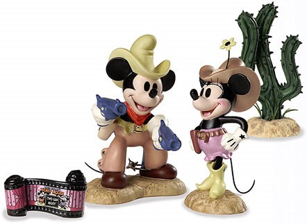 WDCC Disney Classics Two Gun Mickey Color Set