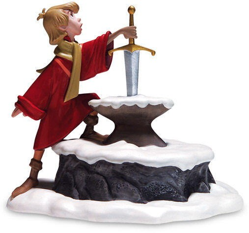WDCC Disney Classics The Sword In The Stone Arthur Seizing Destiny
