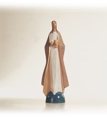 Lladro Bread of Life 1997-08 Porcelain Figurine