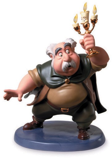 WDCC Disney ClassicsBeauty And The Beast Maurice And Lumiere Is Someone There